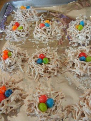 Edible Bird Nests For Easter No Bake Easter Treats