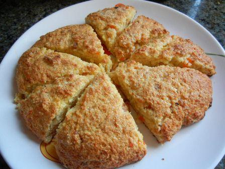 Candied Kumquat Scone