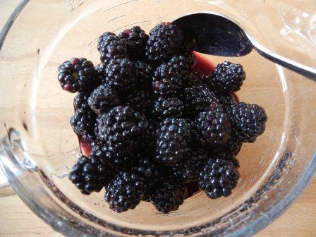 Blackberrys in Wine