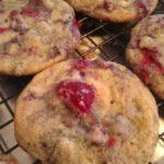 Double Chocolate Raspberry Cookies