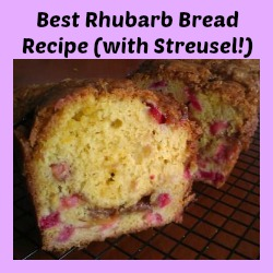 Best Rhubarb Bread Recipe (with Streusel!)