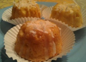 Citrus Coconut Tea Cake