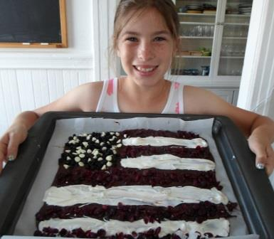 Chocolate Bark Flag