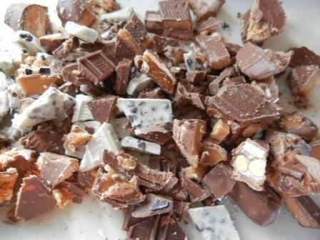 Candy bar Brownie recipe