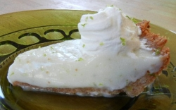 Lime and Coconut Pie