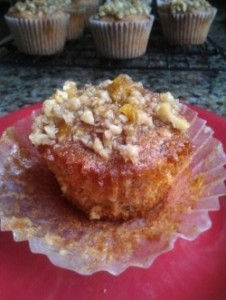 Honey Walnut Muffins