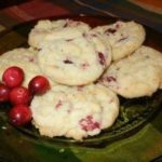 Cranberry Orange Meltaway Cookies