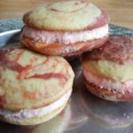 Velvety Candy Cane Whoopie Pies