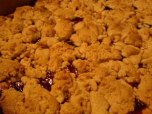 peanutbutter and jelly cookie