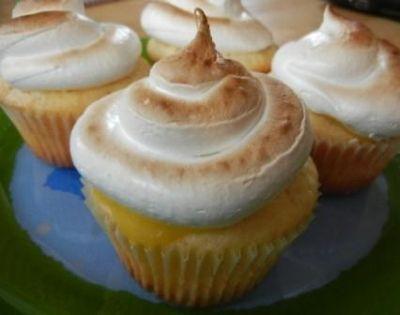 easy lemon meringue cupcake recipe