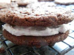 chocolate peppermint sandwich cookie recipe