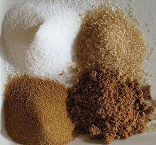 sugar types uses