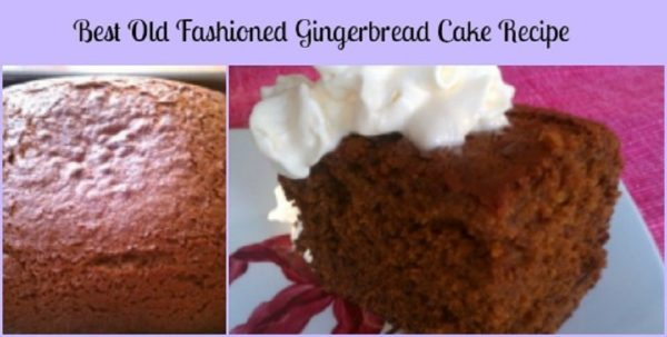 best old fashioned gingerbread cake