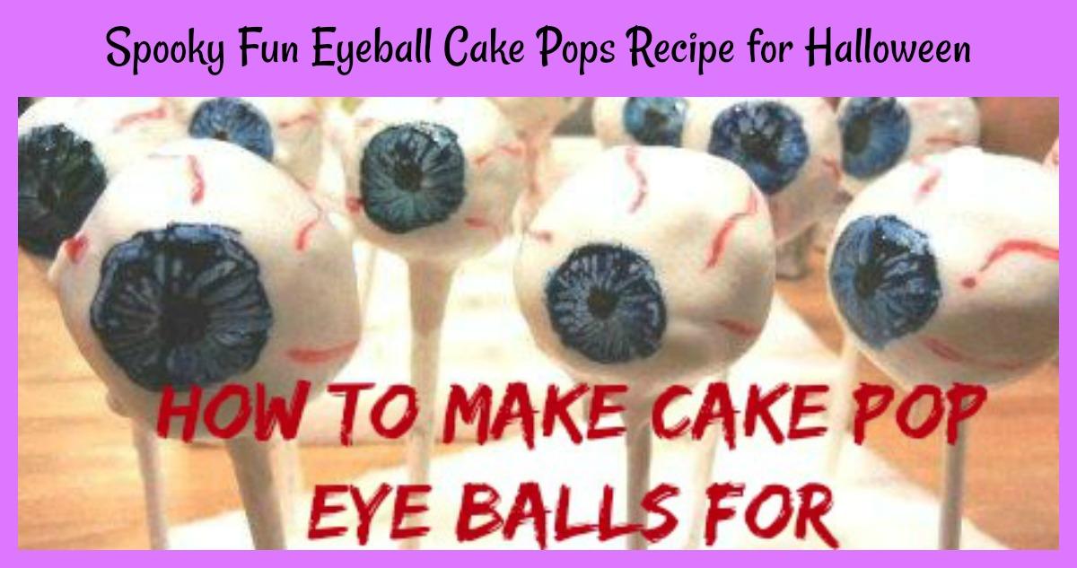 eyeball cake pops recipe