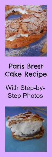 chocolate paris brest cake recipe