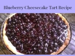 Blueberry Cheesecake Tart Recipe 3