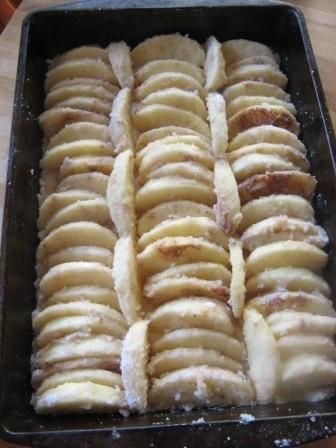 apple cake apfel kuchen