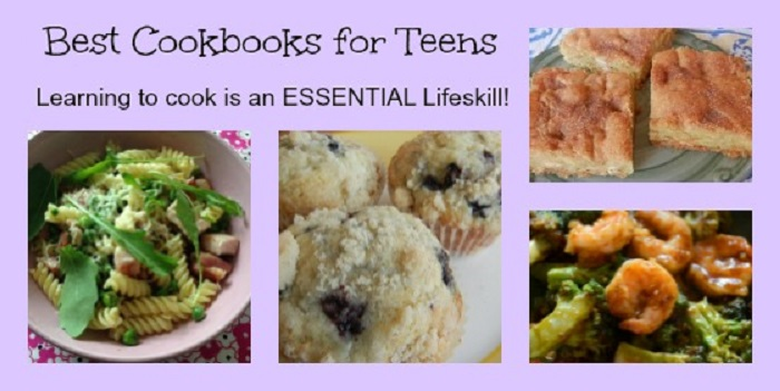 Best Cookbooks for Teens- How to Get Teens into the Kitchen!