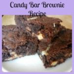 Candy Bar Brownie Recipe- Use Up Those Halloween Candy Bars!