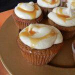 Caramel Apple Cupcakes Caramel Frosting