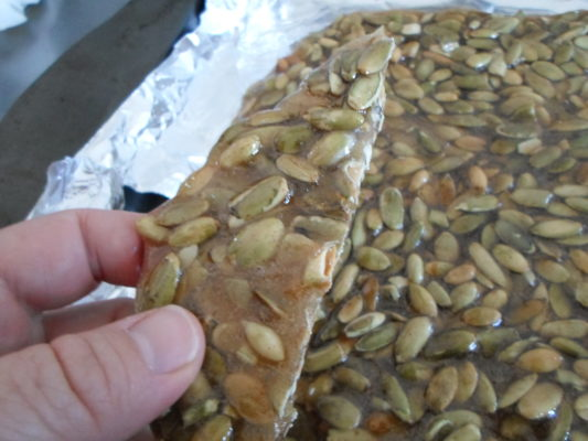 Spicy Pumpkin Seed Brittle Recipe