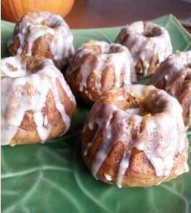 Pumpkin Ginger Bundt Cake (minis!) – The Perfect Fall Treat!