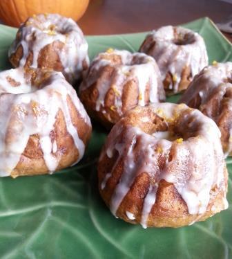 pumpkin ginger bundt cake