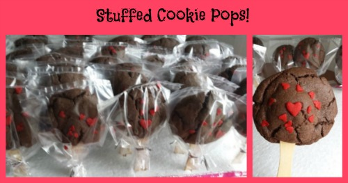 stuffed cookie pops