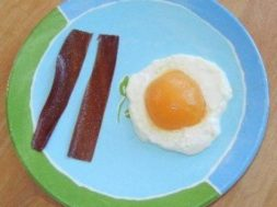kindergarten bacon and eggs