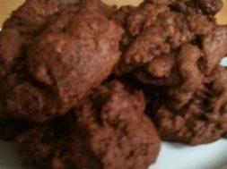mocha truffle cookie