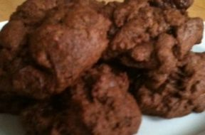 mocha truffle cookie