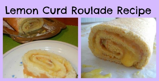 Lemon Curd Roulade Recipe