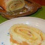 Lemon Curd Roulade Recipe (Lemon Cake Roll)