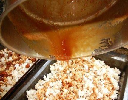 honey crunch popcorn