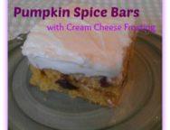 pumpkinspicebars
