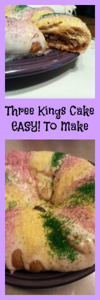 three kings cake easy